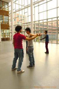 Tai Chi workshop Hogeschool Van Amsterdam