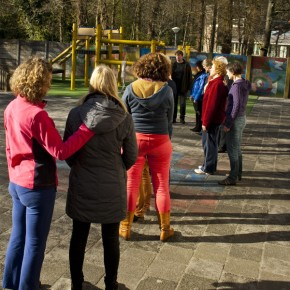 Workshop Tai Chi teamuitje St-Theresia School 12